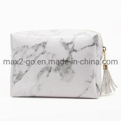 Шаблон PU Custom мраморным макияж косметический мешок