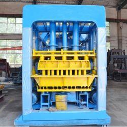 機械装置を作る装置Qt10-15の敷石の空のブロックを作る煉瓦