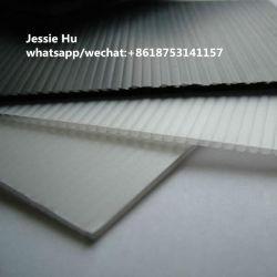 3mm Blanc 500GSM 1220*2440mm PP PP du Coroplast Conseil feuille creux