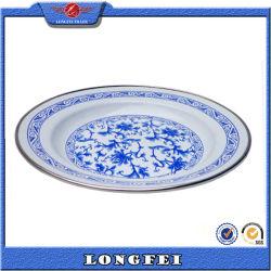 Produtos Mais Vendidos 16-26cm barato China prato de esmalte