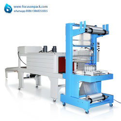 Encapamento Garrafas de água pura equipamento de embalagem de filme do vaso de túnel de encolhimento máquina forno eléctrico