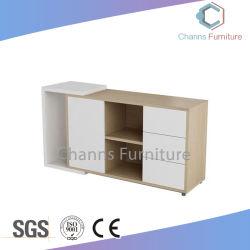 مكتب خشبي أنيق التصميم مع أغطية للقدمين (CAS-FC18502)