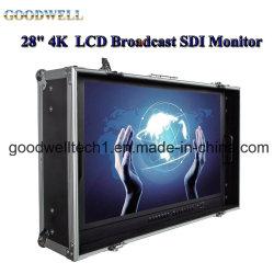 "Ultra-alta resolución 4K 28""LCD Monitor Broadcast SDI"