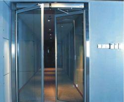 Movimentação automática de alumínio da porta de balanço