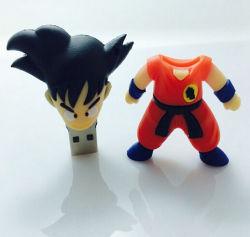 La figura de Anime personalizado de alta velocidad USB Flash Drive 2GB, 4GB, 8GB, 16GB 32 GB 64 GB en Japón la figura de dibujos animados Cute Controlador Flash USB.
