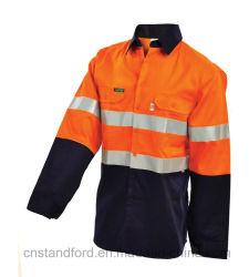 OEM Mans Otoño reflectante de seguridad de Protección al Aire Libre ropa ropa de trabajo para la construcción