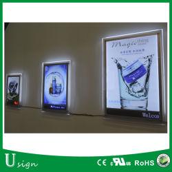 Publicidad Framless alto brillo LED Display imagen
