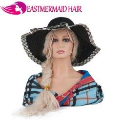 Perruque de qualité supérieure de la tête de mannequin pour la perruque de cheveux