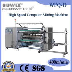 Plastic Film를 위한 컴퓨터 Controlled High Speed Cutting Rewinding Machine