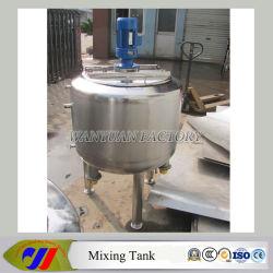 Pequeño depósito mezclador mezclador de Acero Inoxidable Vaso de mezcla de agitador