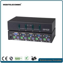4 tipo da tavolino Port interruttore del VGA Kvm