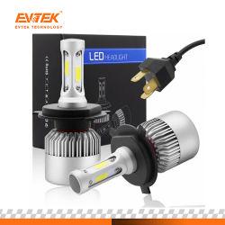 Faro 6500k del faro 36W 4000lm H4 LED dell'automobile di prezzi all'ingrosso S2 con i chip della PANNOCCHIA di Bridgelux