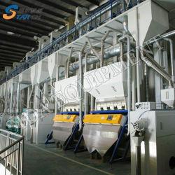 molino de arroz 100-120toneladas diarias de la planta de la máquina con una buena calidad