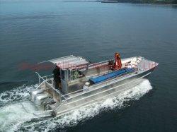 Imbarcazione da lavoro per Landing Craft in alluminio in vendita con certificazione CE