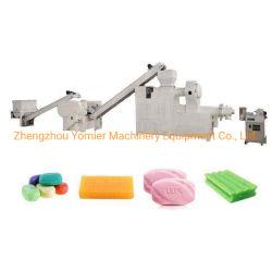 200-500kg por hora Águas Balneares planta de fabricação de sabonete/lavandaria máquinas para produção de sabão