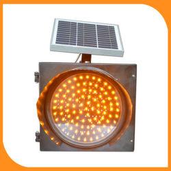 Het in het groot Shell van de Stroboscoop van het Verkeer Zonne Plastic Licht Van uitstekende kwaliteit van de Waarschuwing van het Verkeer