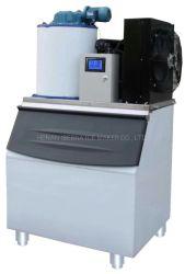 300kgs escama comercial de la máquina de hielo para el procesamiento de pescado y carne