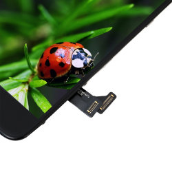 Digitalizador de tela sensível ao toque de alta sensibilidade para iPhone 7G OEM Telefone móvel frontal LCD preto e branco os módulos do painel