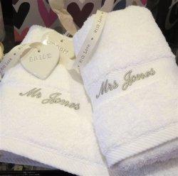 Handdoek 35X75cm van de Hand van het Hotel van de luxe het Katoen van 100% in de Doos van de Gift (JRD283)