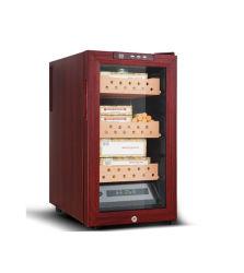 Caixa de charutos de moda personalizada 48L de madeira de cedro Cigar Humidor Espanhol