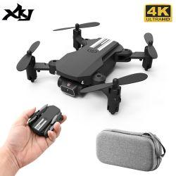 2020 neuer Minikamera WiFi Fpv Luftdruck-Höhen-Einfluss-schwarzes und graues faltbares Quadcopter RC Dron Spielzeug des drohne-4K 1080P HD