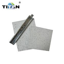 سقف امتصاص صوت لوحة الألياف المعدنية خفيفة الوزن بسُمك 12 مم