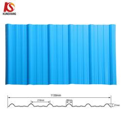 Camadas múltiplas UPVC ondulado/telhado de plástico de PVC/Folhas de tejadilho
