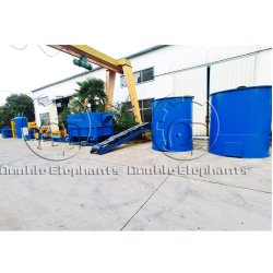 1-5T/H de pequeña escala, África, el aceite de palma de la máquina de procesamiento de la extracción de la molienda de prensa