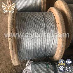 Fabrik Großhandel Edelstahl Verzinkt Stahl Draht Strang