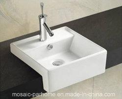 Cerámica cuadrado de Cuenca con orificio de grifo