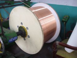 Alumínio Revestido de cobre fios esmaltados Ccaw/Ccaw Fio da Bobina de Voz/bobina de voz Ccaw