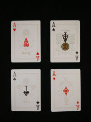 Persoonlijke Pvc/Pet/Paper Playing Card/Game Card/Advertising Card/Casino Card/Poker Card/Tarot Card/Gift Card Double Side Printing