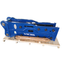 Yantai Baicai Soosan70 hydraulische rotshamer-breker van het hoogste type voor Graafmachine