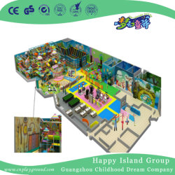 Grandes escaladas indoor Playground Piscina Crianças brincam Set (H6-2503)