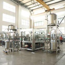 Botella automático de jugo de pulpa naranja / Línea de producción de llenado de embotellado de bebidas