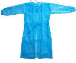Blau bunte Anti-bakterielle und Anti-Blut SMS Vlies Stoff medizinischen Vorhang / Bett Bettlaken/Kissenbezug/Op-Mantel/Medizinische Kleidung