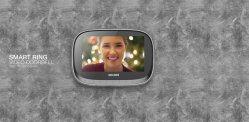 지능적인 가정 현관의 벨 사진기에 의하여 가능하게 된 영상은 이동 전화를 연결한다