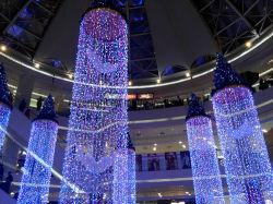 Indicatori luminosi commerciali della tenda della decorazione LED dell'hotel della decorazione di natale