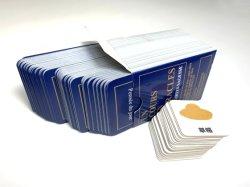 Carte de souhaits d'impression, carte de voeux de style d'affaires, carte de Noël de l'impression