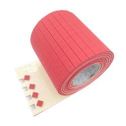 la gomma rossa +1mm di 25*25*4mm aderisce gomma piuma dei rilievi protettivi di vetro della protezione del separatore del distanziatore di EVA su Rolls