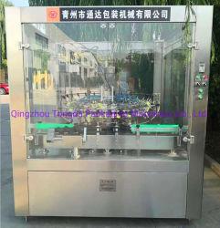 Botella de vidrio tipo giratorio lavado lavado Limpieza de la máquina para la línea de llenado automático
