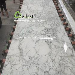 Exclusive de l'Onyx de Jade les plaques de marbre blanc pour les carreaux de revêtement de sol et mur