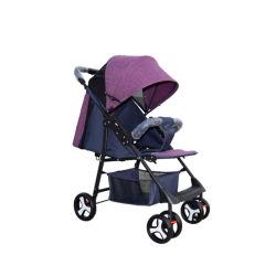 安い軽量の赤ん坊の傘の手押車のベビーカー