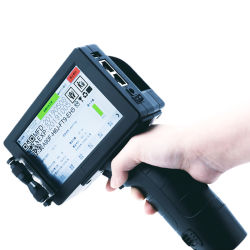 Glaube fasten schnell trockene schwarze Tinten-Kassette für Tij 2.5 Handtintenstrahl-Drucker