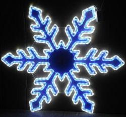 LEIDENE van het openlucht LEIDENE van de Decoratie van Kerstmis de Lichten van 3D Voltage van de Sneeuwvlok Lage Kabel van het Motief