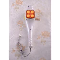 El martillo de masaje con 4 cabezas y rayos infrarrojos