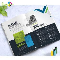 Brochura de Produtos de Design Personalizado Panfleto impressão de folheto Folheto de papel