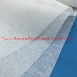 100% polyester non tissé pour les vêtements d'interligne de l'Interligne 1025 imprégnation cautionné interligne non tissé