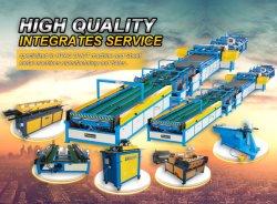 Automatische rechteckige HVAC-Luftkanal-Herstellung, die die Maschinen HVAC-Leitung bildend bildet Maschine sich bildet