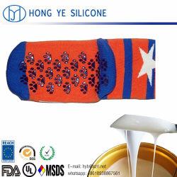 Fabricante de RTV2 para el revestimiento de caucho de silicona líquida en paño textil